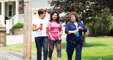 Study shows older adults are on the right track for fall prevention