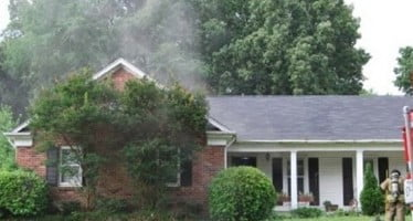 Early Morning Cooking Fire Displaces Family