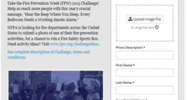 New Fire Prevention Week 2015 Challenge champions U.S. fire departments' campaign efforts