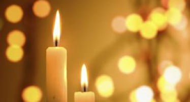 Flameless candles provide beauty and safety to any holiday/winter decor