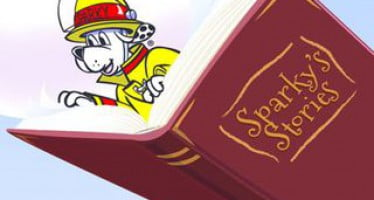 Celebrate reading campaign with Sparky School House
